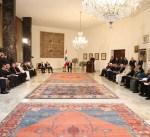 الرئيس اللبناني: استراتيجية الفوضى الخلاقة قد اثبتت فشلها الذريع