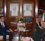 وزير الخارجية يتسلم نسخة من أوراق اعتماد السفير الاسترالي