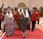 رئيس وزراء البحرين يغادر البلاد بعد زيارة اخوية قصيرة