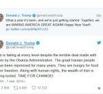 ترامب: حان وقت التغيير في إيران