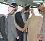 وزير الدفاع يتقدم مشيعي الطالب الضابط فيصل العبيد