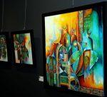 66 لوحة لمواهب خليجية تعكس جماليات الحياة بالمعرض التشكيلي الخليجي