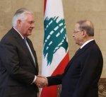 الرئيس اللبناني يدعو واشنطن لمنع الاعتداءات الاسرائيلية على سيادة لبنان