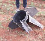 سقوط بقايا صاروخ من مخلفات الغارة الإسرائيلية على سوريا شرق لبنان