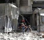 سكان الغوطة الشرقية يحولون الأقبية إلى منازل