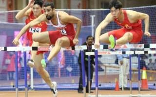 المنديل يحرز الذهبية الثالثة للكويت ببطولة آسيا للصالات المغلقة لالعاب القوى