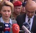 """وزيرة الدفاع الالمانية تدعو الى الحفاظ على الانتصارات على """"داعش"""""""