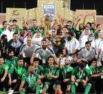 فريق الحرس الوطني لكرة القدم يحرز كأس دوري الوزارات للمرة الـ15 في تاريخه