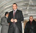 الرئيس الغانم يصل إلى جنيف للمشاركة في مؤتمر الاتحاد البرلماني الدولي الـ ١٣٨