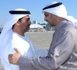 مبعوث سمو الأمير يصل إلى الامارات