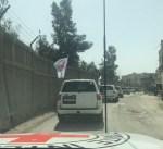 الدفاع الروسية: القافلة الإنسانية التابعة للهلال الأحمر تعود من الغوطة الشرقية