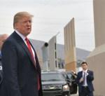 كاليفورنيا: ترامب يطّلع على نماذج من الجدار الحدودي مع المكسيك