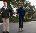 ترامب يعترف بأن زوجته ميلانيا تعيش أياما صعبة