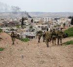 أمتار قليلة تفصل القوات التركية عن عفرين