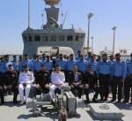 """رئيس أركان البحرية الباكستانية يزور قاعدة """"محمد الأحمد"""" الكويتية"""