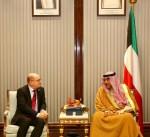 الشيخ صباح الخالد يلتقي رئيس البرلمان في مملكة السويد