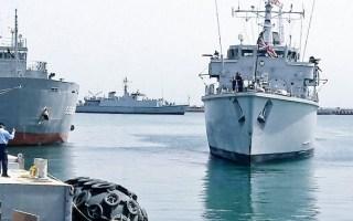 """""""البحرية"""" تجري الاسبوع المقبل تدريبا مشتركا مع نظيرتها البريطانية"""