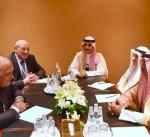 وزير الخارجية يلتقي نظيره المصري على هامش أعمال الاجتماع التحضيري للقمة العربية