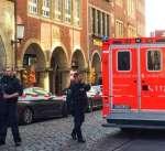 قتلى وعشرات الجرحى في حادث دهس في مونستر الألمانية