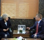 العاهل الأردني لماي: الحل السياسي هو السبيل الوحيد لإنهاء الأزمة السورية