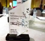 """""""كافكو"""" تنال جائزة التميز في إدارة الموارد البشرية للشرق الأوسط"""