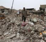 """""""جثث الأنقاض"""" تعيق عودة النازحين إلى الموصل القديمة"""