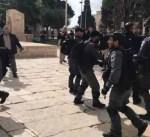 شرطة الاحتلال تعتدي على حراس المسجد الأقصى