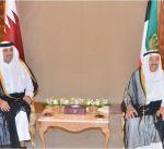 أمير قطر يغادر الكويت بعد زيارة أخوية