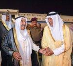 سمو أمير البلاد يصل إلى مكة المكرمة