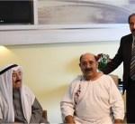 سمو الأمير يزور وزير الدفاع في المانيا للاطئنان على صحته