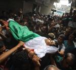مصرع فتيين فلسطينيين واصابة ثمانية في انفجار بشرق غزة