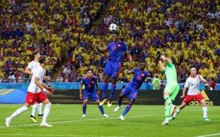 كولومبيا تطيح ببولندا من المونديال وتنعش آمالها في التأهل