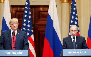 ترامب يجتمع مع بوتين ويندد بسياسات أمريكا السابقة حيال روسيا