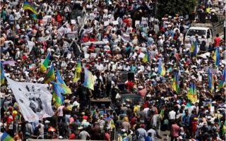 عشرات الآلاف يتظاهرون في المغرب احتجاجا على سجن نشطاء الريف