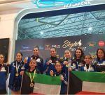 """منتخب الكويت لـ""""الفيغر"""" للفتيات يحقق سبع ميداليات بانطلاق البطولة الأسيوية في تايلاند"""