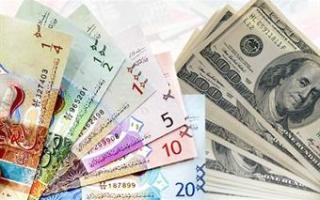 الدولار الأمريكي يستقر أمام الدينار عند 0.302 واليورو يرتفع إلى 0.352