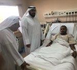 وزير الصحة يزور الطلبة الضباط في مستشفى الصباح
