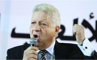 """""""الكاف"""" يعلن إيقاف مرتضى منصور رئيس نادي الزمالك المصري"""