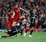 هدف فيرمينو ينقذ ليفربول أمام سان جرمان