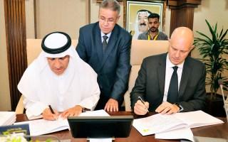 جامعة الكويت توقع اتفاقية مشروع الحرم الطبي في المدينة الجامعية