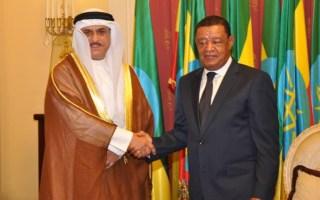 سفير الكويت لدى اثيوبيا يقدم أوراق اعتماده إلى رئيس جمهورية أثيوبيا