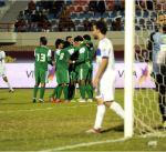 العربي يهزم الجهراء ويلاقي القادسية بنصف نهائي كأس سمو ولي العهد لكرة القدم