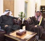 الغانم يستقبل سفير الكويت لدى تركيا غسان الزواوي