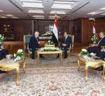 السيسي يؤكد ثبات موقف بلاده من القضية الفلسطينية وحل الدولتين