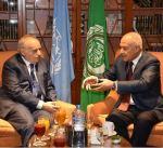 الجامعة العربية والأمم المتحدة تتفقان على أهمية استمرار جهود حل الازمة الليبية