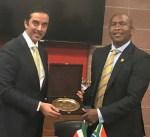 مسؤول جنوب إفريقي يؤكد دعم بلاده للقضية الفسطينية ورفضها سياسة الاستيطان