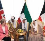 سمو أمير البلاد يستقبل رئيسة وزراء المملكة المتحدة