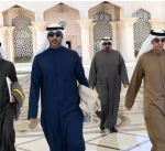مبعوث سمو أمير البلاد يتوجه الى السعودية لتسليم رسالة الى ولي عهد المملكة