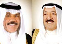 سمو أمير البلاد يهنئ سمو الشيخ نواف الأحمد بالذكرى ال13 لتوليه ولاية العهد