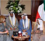 سمو أمير البلاد يتسلم أوراق اعتماد عدد من السفراء لدى الكويت